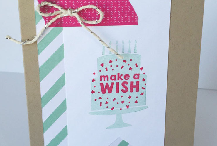 Party Wishes Card