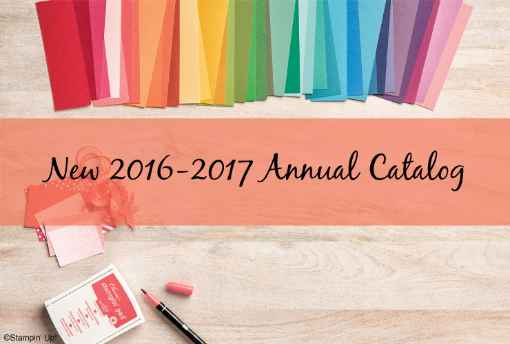 New 2016-2017 Annual Catalog