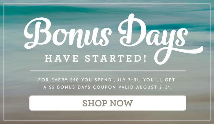 Bonus Days...Shop in July, spend in August | #mackenziemakes #makewithme #stampinup | www.mackenziemakes.com
