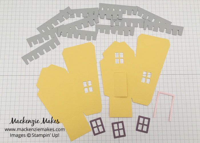 Create the Up House with the Sweet Home Bundle – An Up movie inspired house made using the Sweet Home stamp set and Home Sweet Home Thinlits Dies from Stampin Up | #mackenziemakes #makewithme #stampinup | www.mackenziemakes.com
