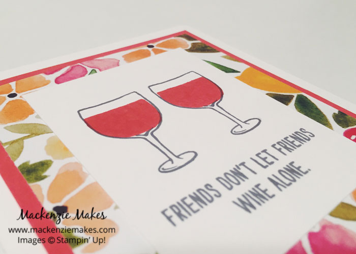 Mixed Drinks Cards – Three cards using the Mixed Drinks stamp set from Stampin Up | #mackenziemakes #makewithme #stampinup | www.mackenziemakes.com