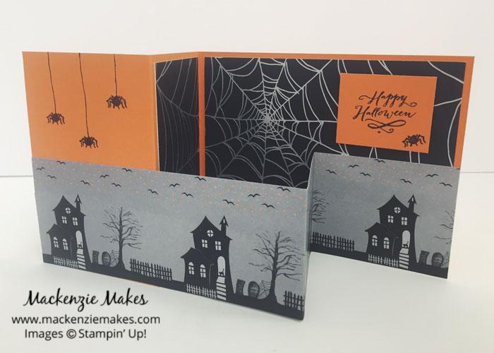 Happy Halloween Z-Fold Card
