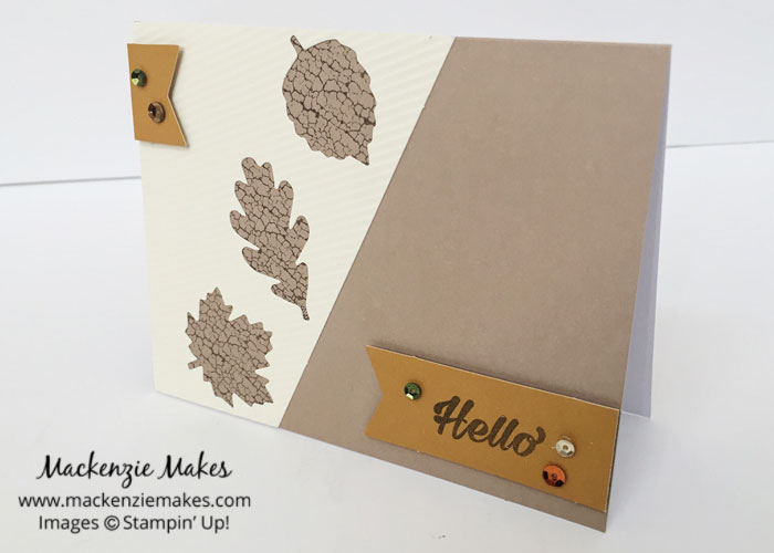 October 2016 Paper Pumpkin: Season of Gratitude – See some alternate card ideas using the Season of Gratitude Paper Pumpkin kit.   #mackenziemakes #makewithme #stampinup   www.mackenziemakes.com