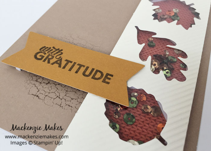 October 2016 Paper Pumpkin: Season of Gratitude – See some alternate card ideas using the Season of Gratitude Paper Pumpkin kit. | #mackenziemakes #makewithme #stampinup | www.mackenziemakes.com