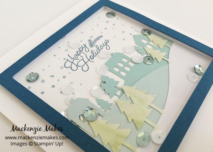 November 2016 Paper Pumpkin - Wonderful Winterland – See some alternate card ideas using the Wonderful Winterland Paper Pumpkin kit.   #mackenziemakes #makewithme #stampinup   www.mackenziemakes.com