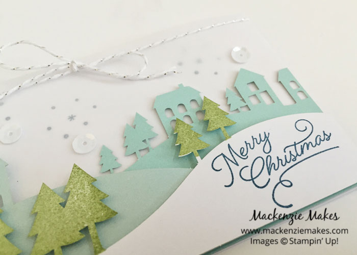 November 2016 Paper Pumpkin - Wonderful Winterland – See some alternate card ideas using the Wonderful Winterland Paper Pumpkin kit. | #mackenziemakes #makewithme #stampinup | www.mackenziemakes.com