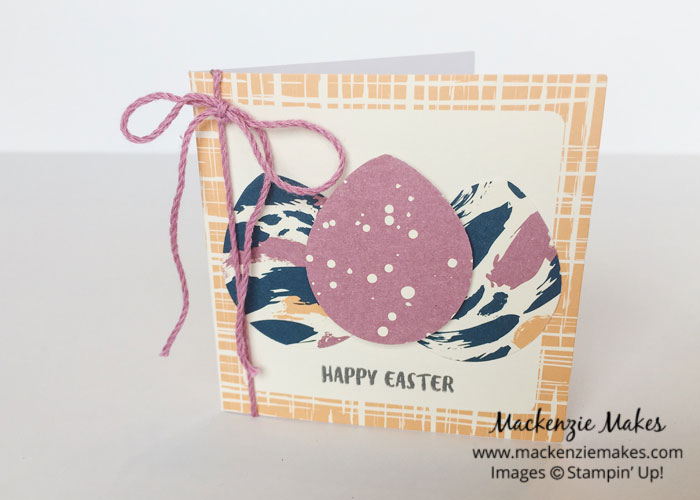 March 2017 Paper Pumpkin - Bunny Buddies – Check out a bunch of cute bunny projects made using the Bunny Buddies Paper Pumpkin kit.   #mackenziemakes #makewithme #stampinup   www.mackenziemakes.com