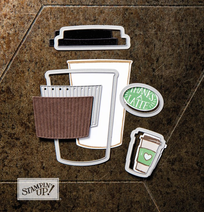 Coffee Cafe bundle by Stampin' Up!