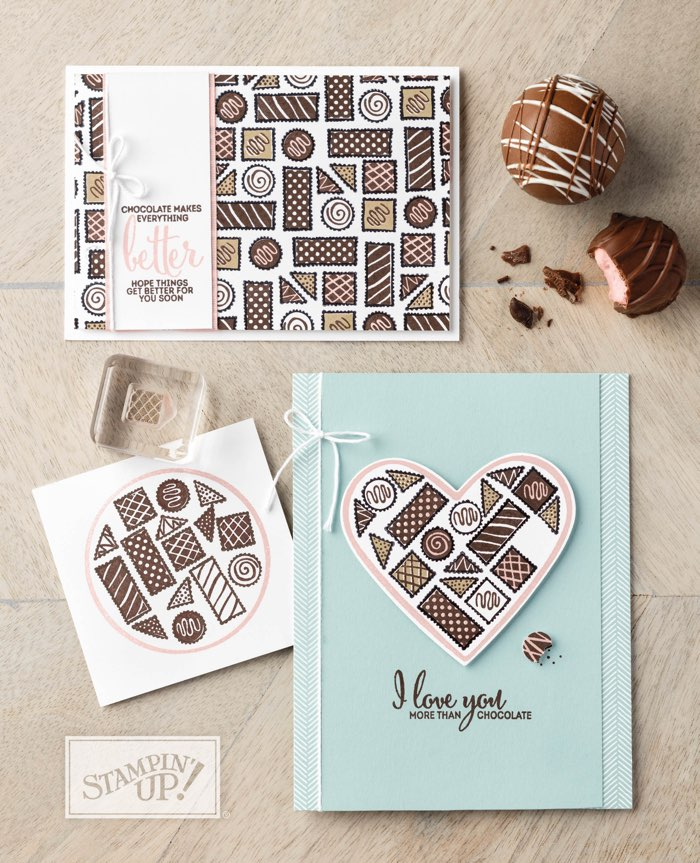 """More Than Chocolate stamp set by Stampin"""" Up!"""