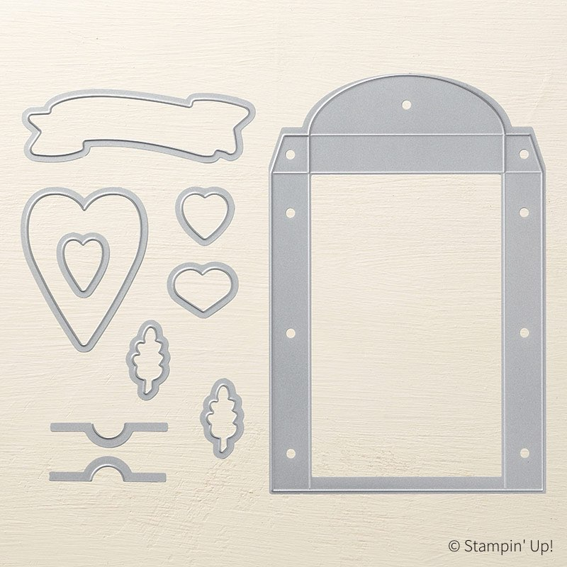 Lots to Love Box Framelits by Stampin' Up!