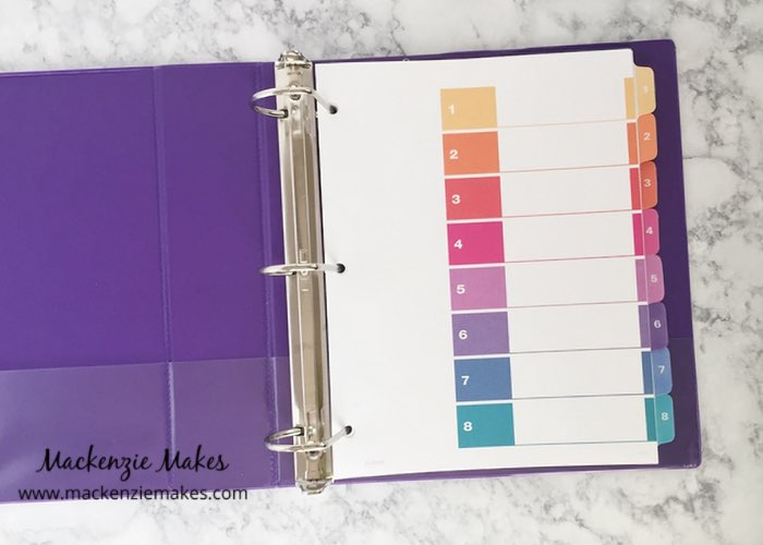 Getting Started with Homeschooling – Click through to see how I am getting our homeschool organized. | www.mackenziemakes.com
