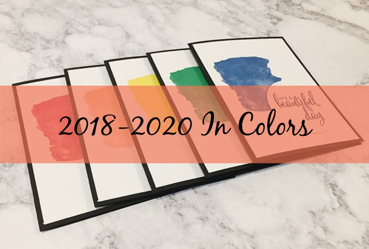 The 2018-2020 In Colors