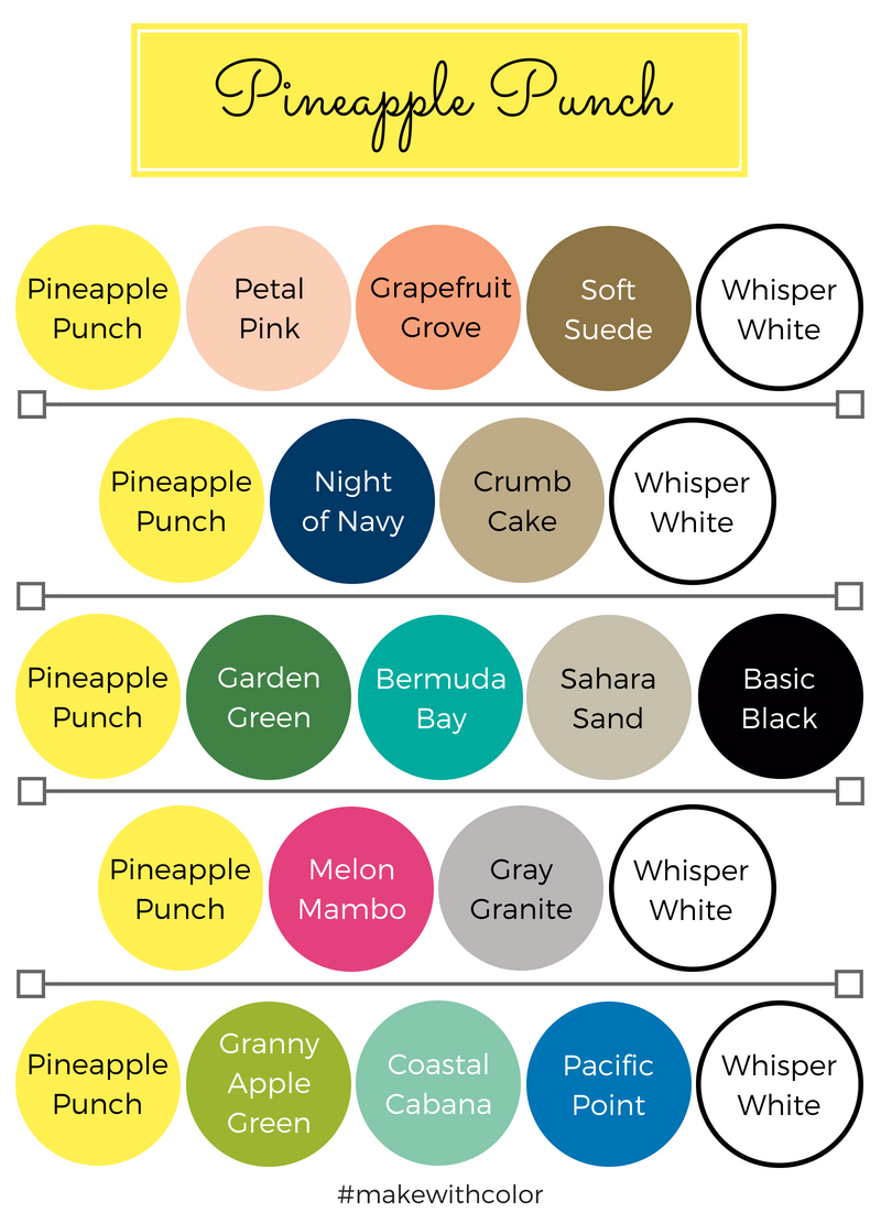 Color Combos Pineapple Punch