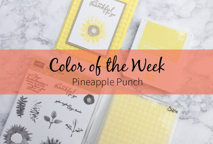 Color of the Week – Pineapple Punch