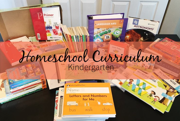 Homeschool Curriculum – Kindergarten