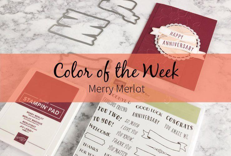 Color of the Week – Merry Merlot
