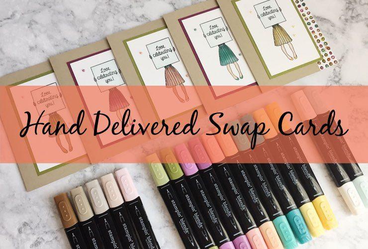 Hand Delivered Swap Cards
