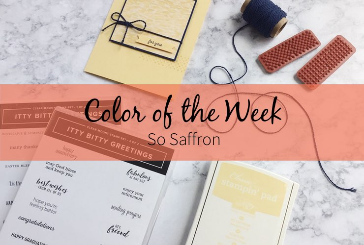 Color of the Week – So Saffron