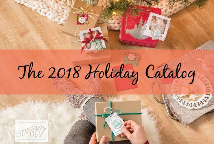 The 2018 Holiday Catalog!