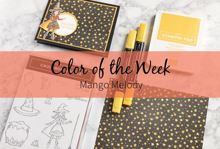 Color of the Week – Mango Melody