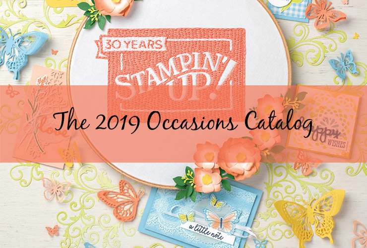 The 2019 Occasions Catalog and Sale-A-Bration!