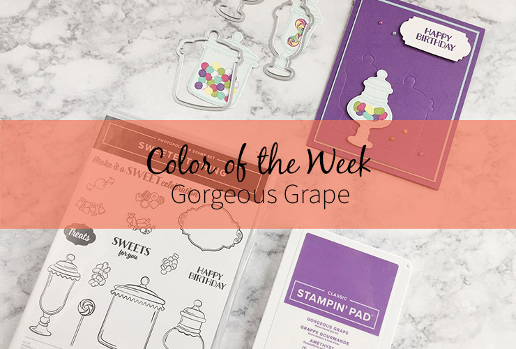 Color of the Week – Gorgeous Grape