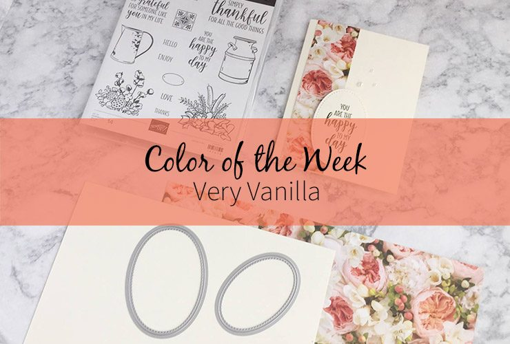 Color of the Week – Very Vanilla