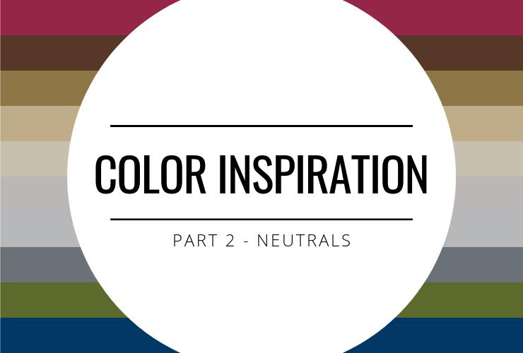 Color Inspiration – Part 2