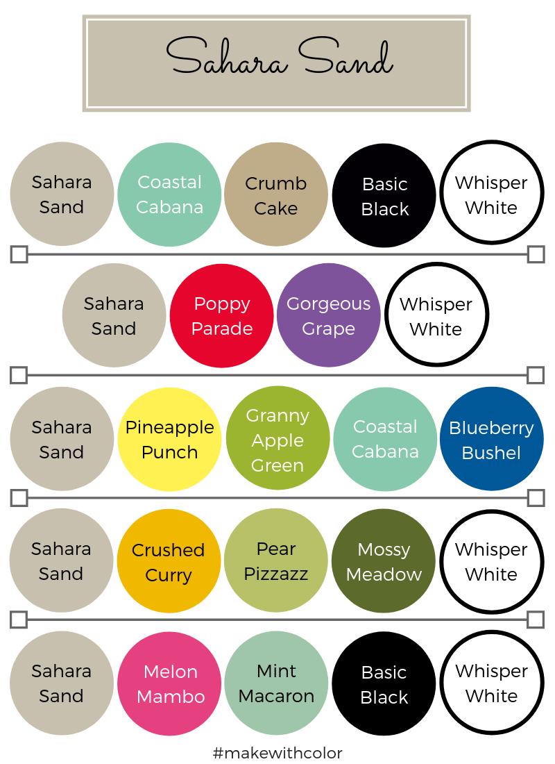 Color Combos Sahara Sand