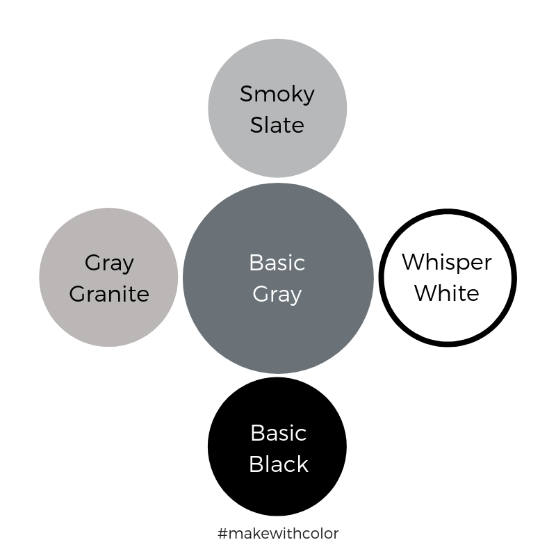 Color Comparison Basic Gray