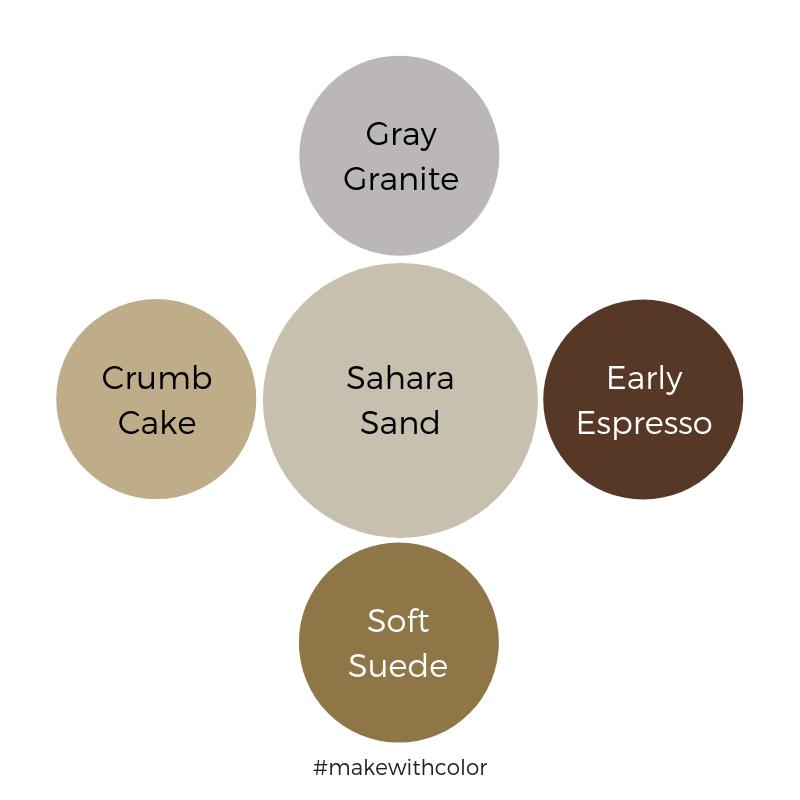 Color Comparison Sahara Sand