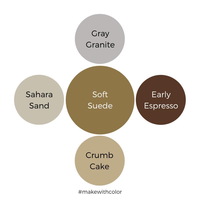 Color Comparison Soft Suede
