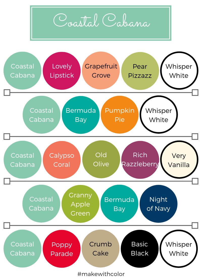 Color Combos Coastal Cabana