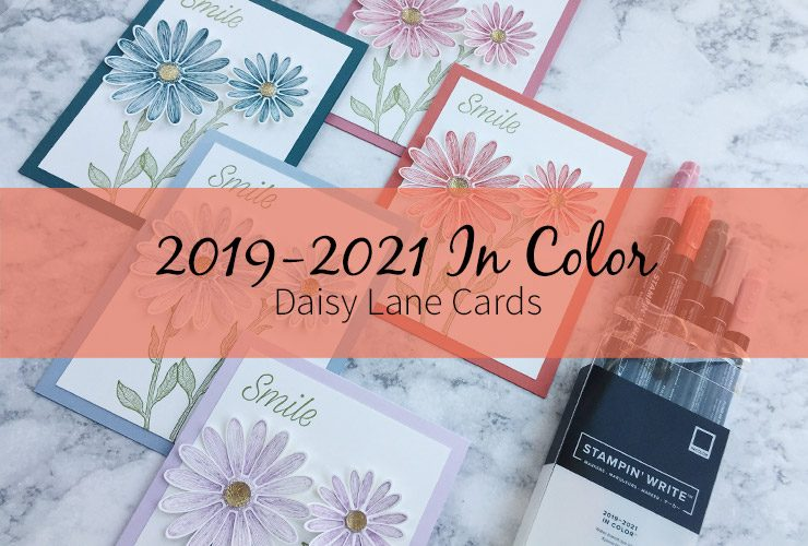 2019-2021 In Color Daisy Lane Cards