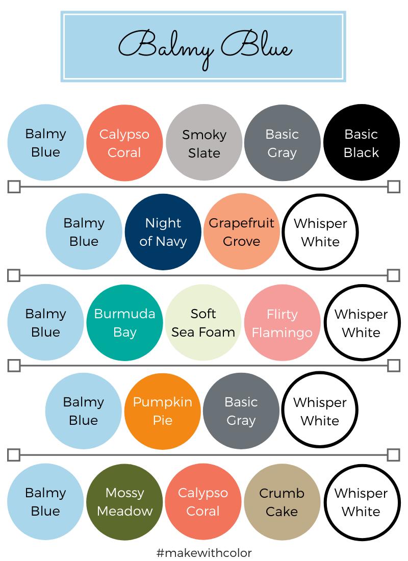 Color Combos Balmy Blue