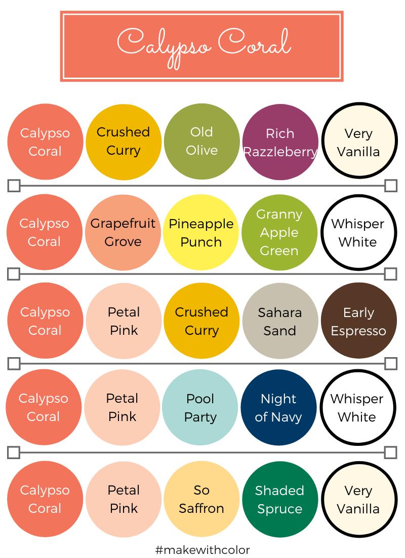 Color Combos Calypso Coral