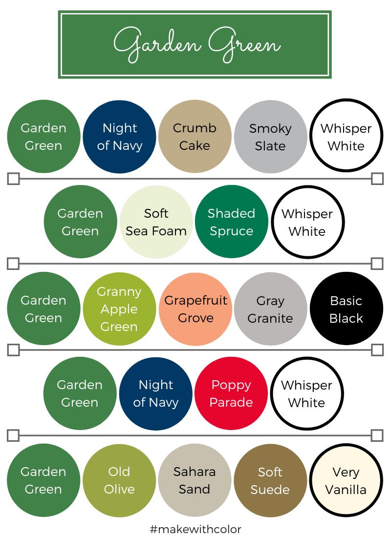 Color Combos Garden Green
