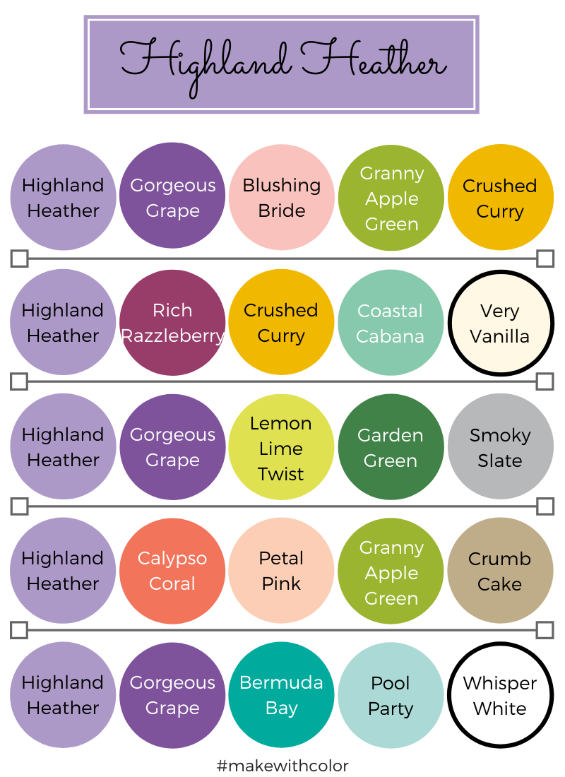 Color Combos Highland Heather