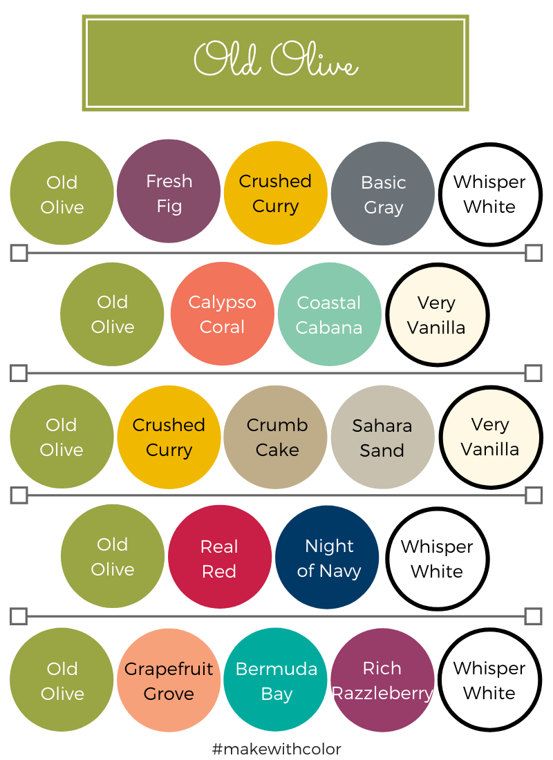 Color Combos Old Olive