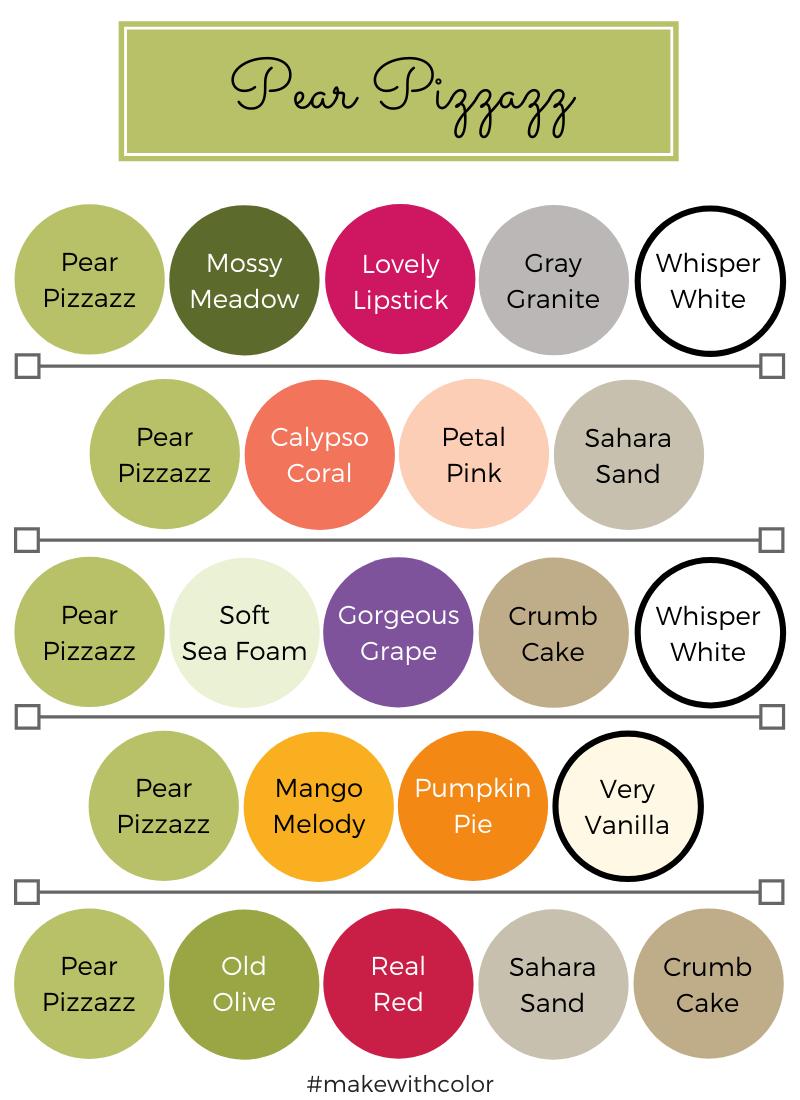 Color Combos Pear Pizzazz