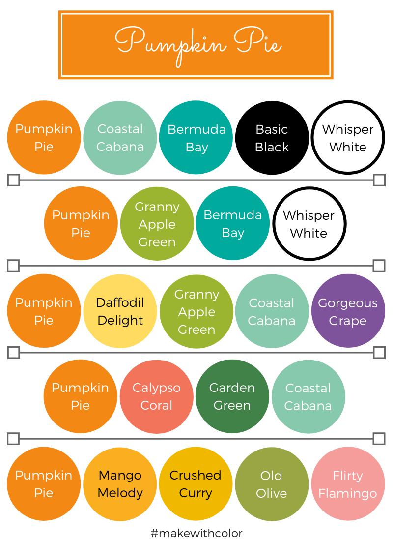 Color Combos Pumpkin Pie