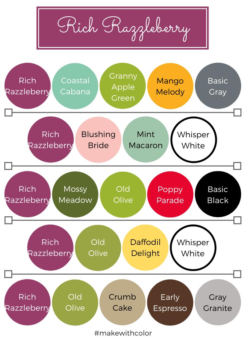 Color Combos Rich Razzleberry