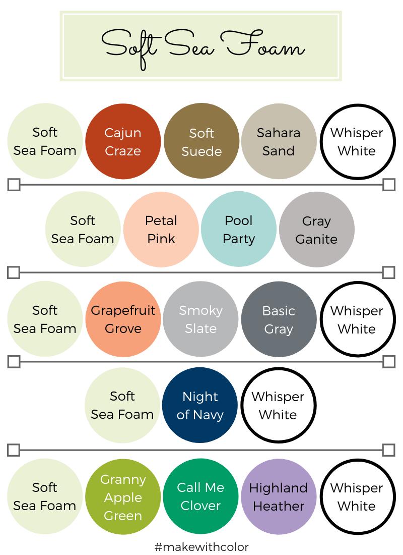 Color Combos Soft Sea Foam