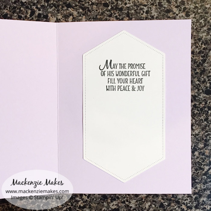 Easter Promise Card – Click through to see how to make a beautiful Easter card using the Easter Promise stamp set. | #mackenziemakes #stampinup | www.mackenziemakes.com