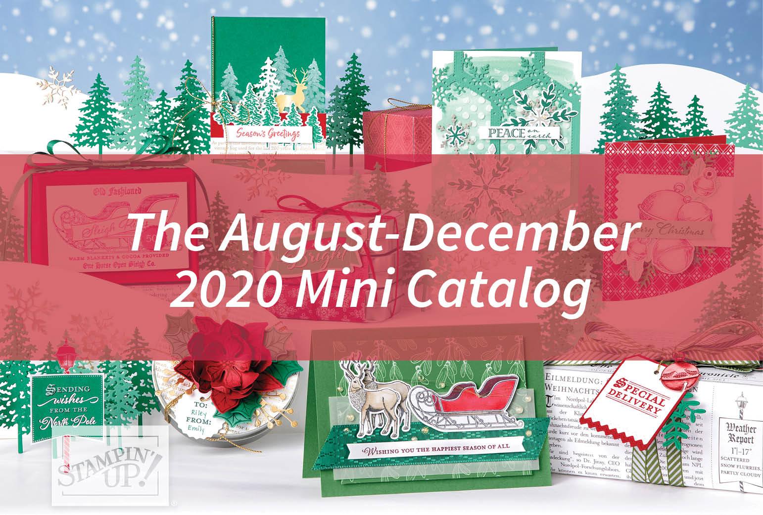 The August-December 2020 Mini Catalog