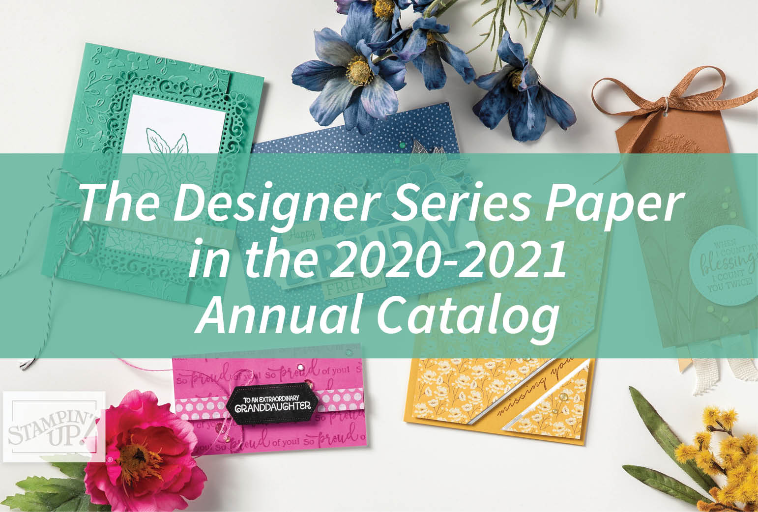 The Designer Series Paper in the 2020-2021 Annual Catalog