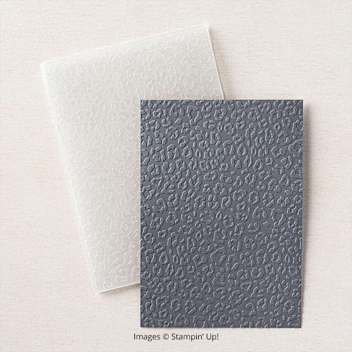 Animal Print Embossing Folder