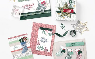 Christmas in July Card Kit Classes