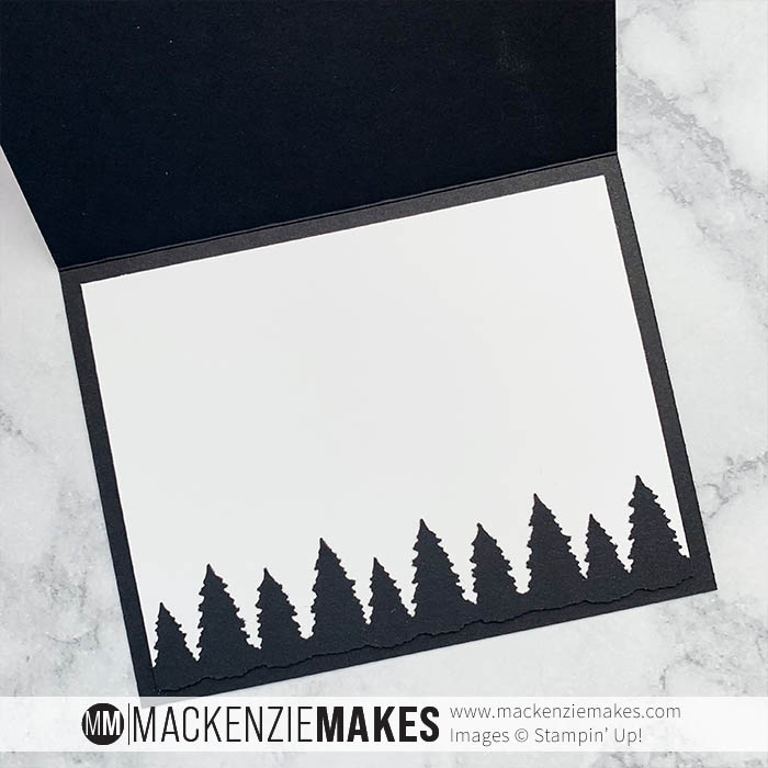 September 2021 Technique Squad Blog Hop - Northern Lights – Learn how to create the northern lights effect with ink and paper.   #mackenziemakes #stampinup   www.mackenziemakes.com